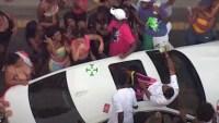 Disparos y dinero por el aire: fiesta callejera en Florida termina en descontrol