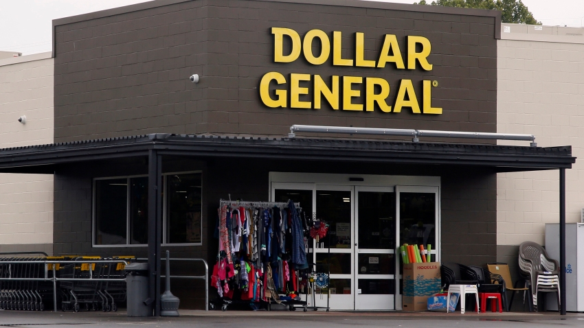 In this Aug. 3, 2017, file photo the Dollar General store is pictured in Luther, Okla.