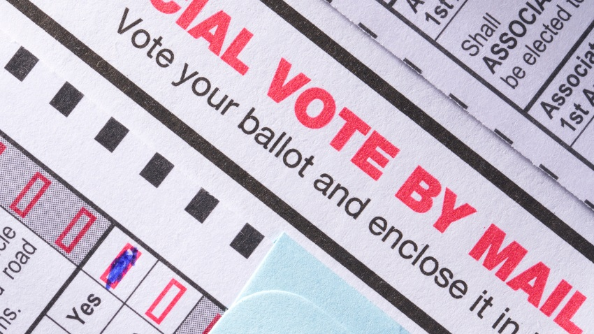 Mail-in ballot