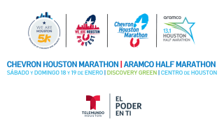2020 Chevron Houston Marathon | Aramco Half Marathon y We Are Houston RunFest