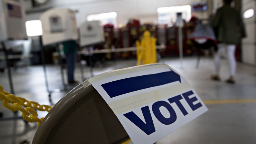 Voters Cast Ballots During Midterm Elections