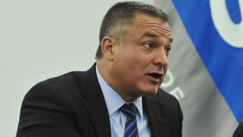 Imagen der archivo del ex secretario de Seguridad Pública de México Genaro García Luna.