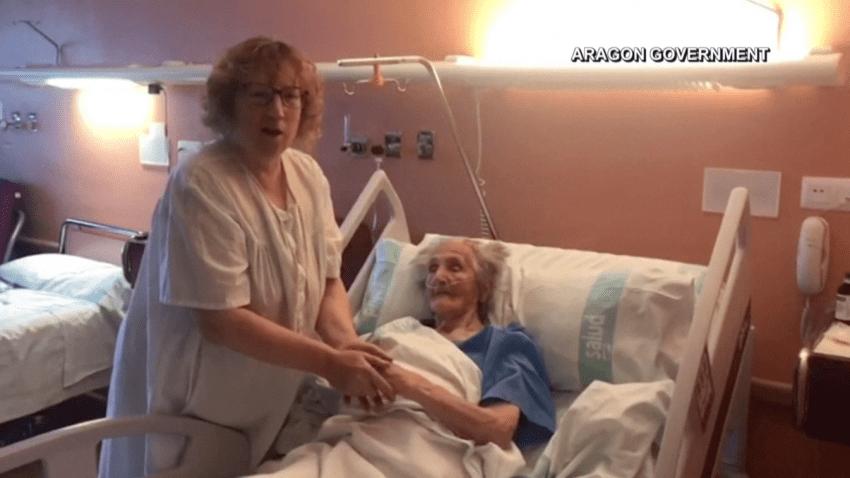 Insólito: a sus 113 años la mujer más longeva de España vence al ...