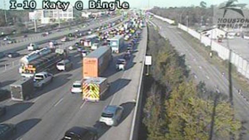Un caos se generó en la autopista I-10