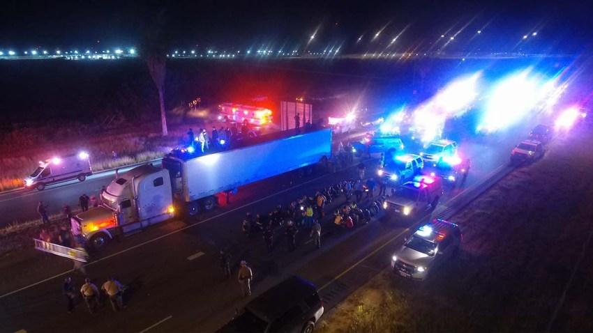 camion inmigrantes de raymoindville pd