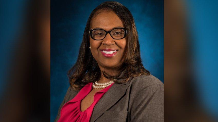 La superintendente encargada del Distrito Escolar Independiente de Houston, Grenita Lathan.