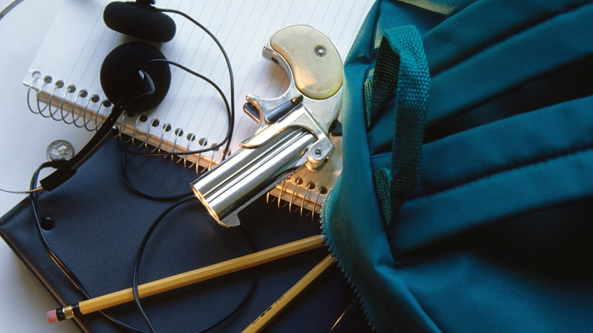 gun in school archive photo shutterstock