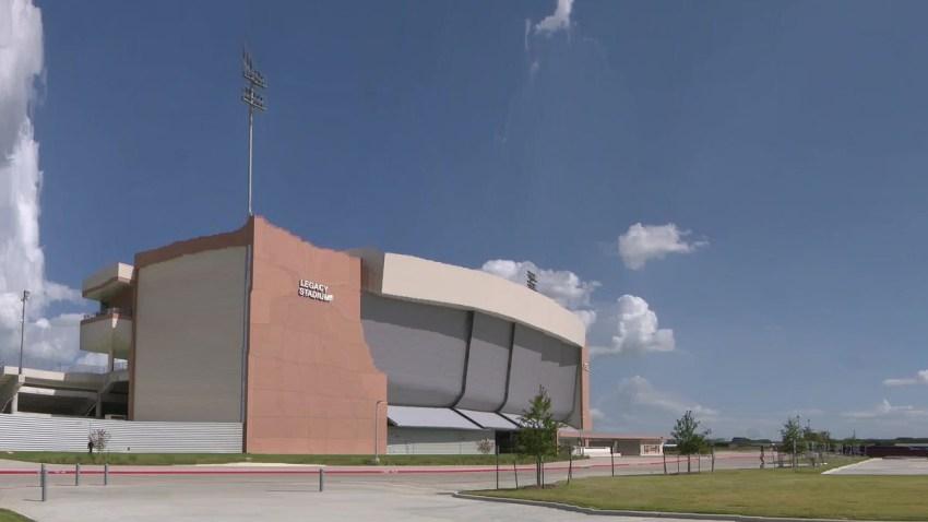El estadio Legacy está ubicado en la ciudad de Katy.