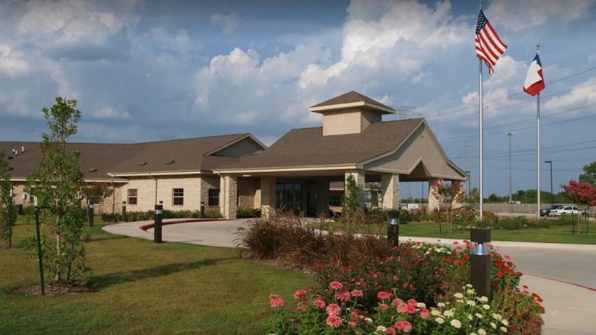 El asilo para ancianos está ubicado en el área de Tomball.