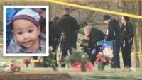 Frenética búsqueda por bebé de 6 meses termina en un cementerio