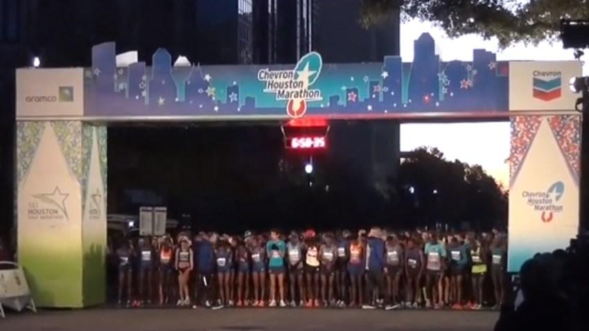 La maratón de Houston atrae atletas de más de 50 países.