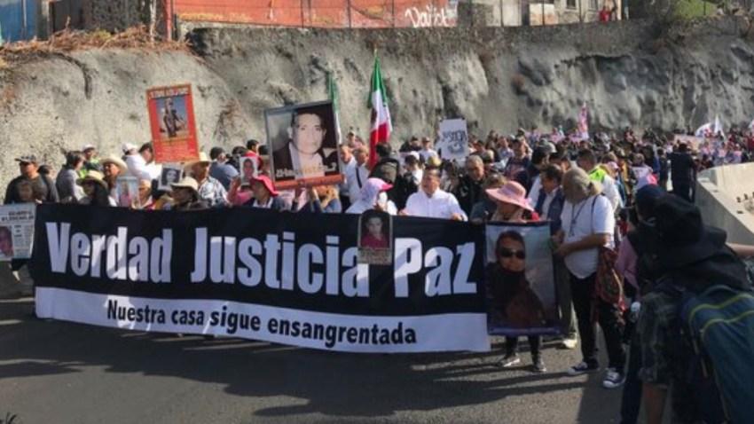 Marcha por la paz en México