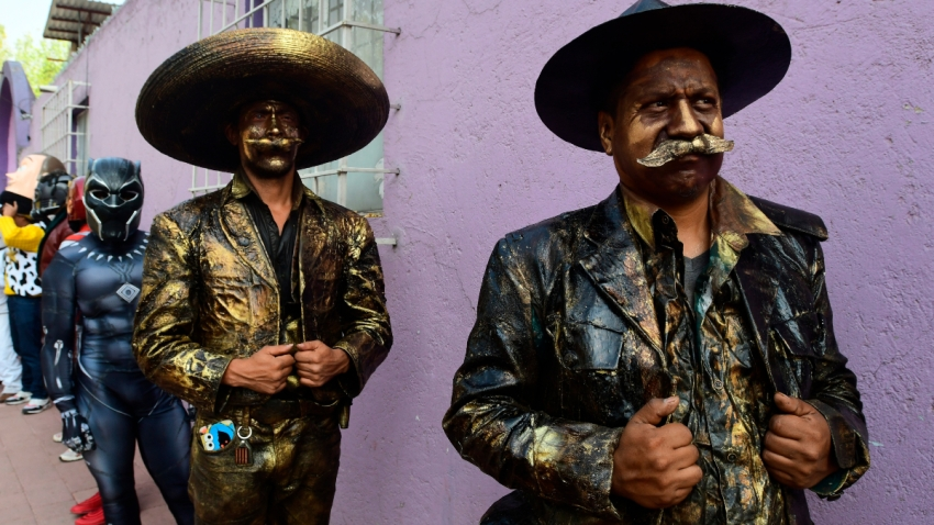 Artistas urbanos en Ciudad de México