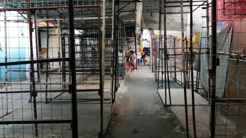 Comerciantes informales en Tepito