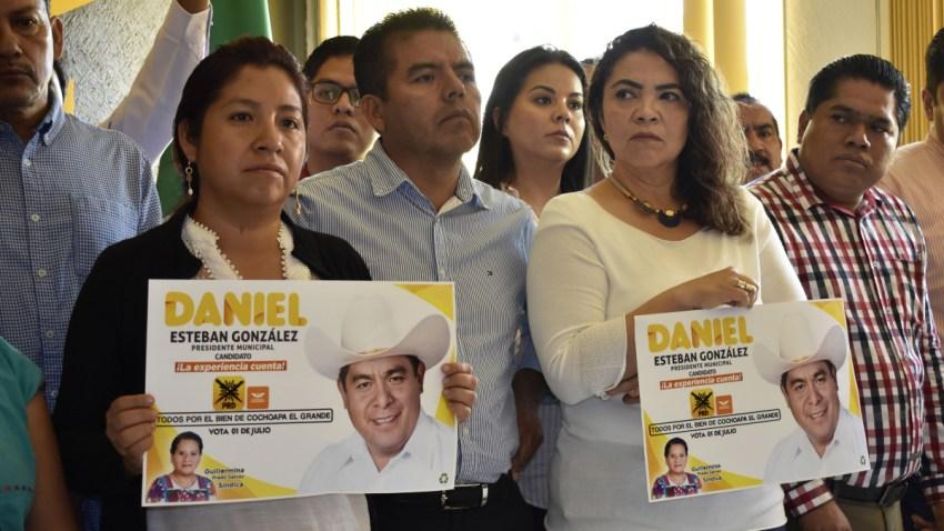 Protesta de familiares de alcalde asesinado