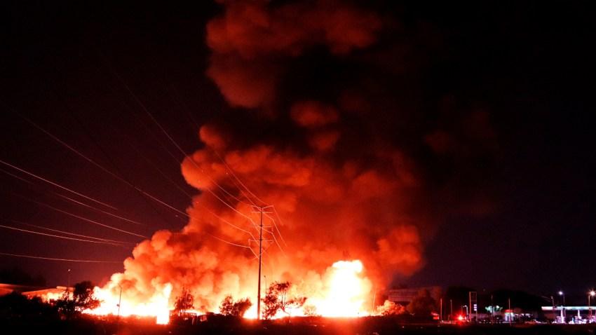 Incendio de Central de Abasto en Ciudad de México