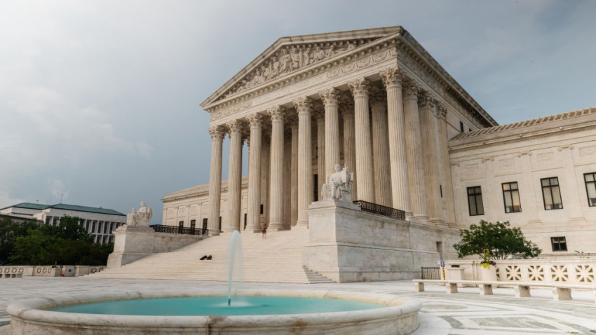The U.S. Supreme Court building stands in Washington, D.C., U.S., on Tuesday, July 7, 2020.