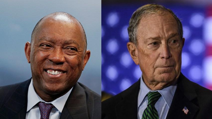 El alcalde de Houston, Sylvester Turner, anunció su apoyo a Michael Bloomberg para la presidencia de Estados Unidos.