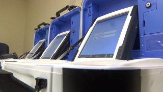 voting machines in hidalgo county