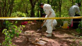 Fosas clandestinas en Sinaloa