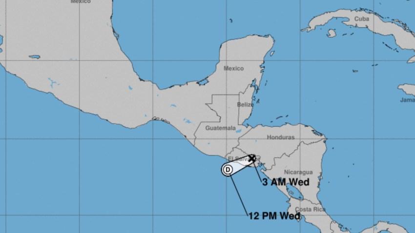 tormenta Iota en Centroamerica
