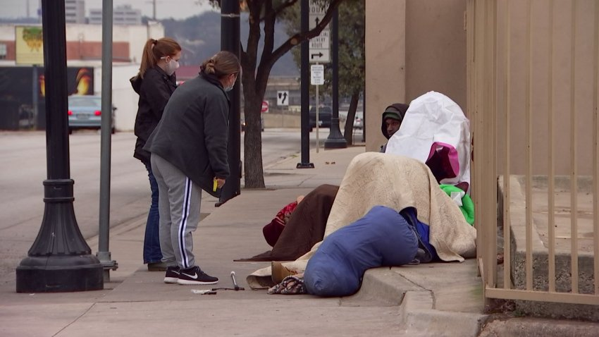 Fort Worth is opening as many as three emergency homeless shelters to provide beds during this week's cold weather as traditional shelters are at limited capacity because of COVID-19 restrictions.
