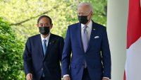 Biden se reúne con Suga en su primer encuentro bilateral en persona debido a la pandemia