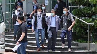 apple daily hong kong arrests