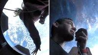 Astronautas civiles publican sus primeras fotos desde el espacio