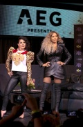 USA_GLORIA TREVI AND ALEJANDRA GUZMAN