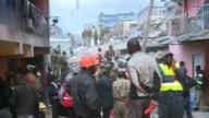 Derrumbe de edificio deja muertos y heridos en Nairobi