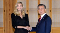 """Ivanka Trump usa """"diplomacia olímpica"""" y cena con presidente"""