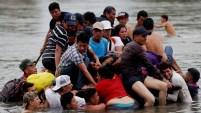 Miles de centroamericanos siguen dejaron atrás la miseria y la violencia, en busca de un mejor horizonte en el norte. Te mostramos las imágenes del éxodo.