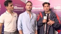 La banda mexicana de pop hablo sobre sus colaboraciones con artistas de la música urbana. Detalles en el video.