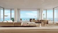 La propiedad tiene 12,410 pies cuadrados de espacio interior y una terraza al aire libre de 18,247 pies cuadrados. Cuenta con 11 baños, un gimnasio, un baño...