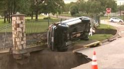 Muerte y destrucción por tormentas a las afueras de Houston