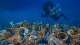 Tesoro milenario: sorprendente hallazgo en famoso naufragio