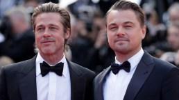 Brad Pitt y Leonardo DiCaprio enloquecen la alfombra roja del Festival de Cannes