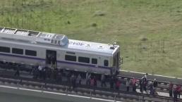 Evacuación de pasajeros en las alturas