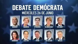 Así se afinan los últimos detalles del primer debate demócrata en Miami