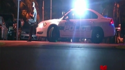 Patrullero choca auto de fugitivo y termina persecución