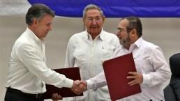 Colombia y FARC firman cese del fuego bilateral y definitivo