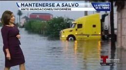 Inundaciones afectan área de Houston