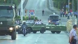 Cenizas de Castro llegan a Santiago de Cuba