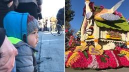 El Desfile de las Rosas brindó muchas sonrisas