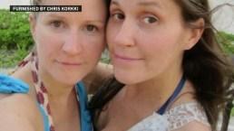 Hermanas murieron de líquido en los pulmones durante vacaciones
