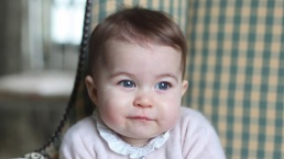 Te presentamos a Charlotte, la princesa de seis meses