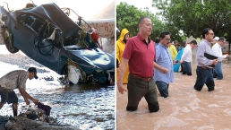 Autos varados y personas desaparecidas: amplían estado de emergencia tras lluvias mortales