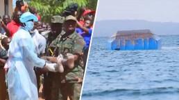 Un hombre sobrevive 40 horas dentro de un ferry volcado: sube a 209 la cifra de muertos
