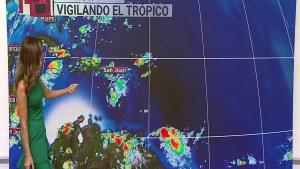 Altas temperaturas y lluvias dispersas para el inicio de clases. Janet Bolívar con el pronóstico.